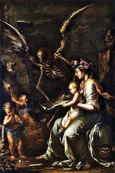 The fragility of Human life (1656)