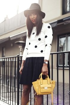 Dots on Dots | What I'm Wearing