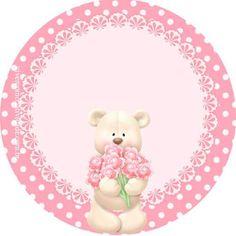 Kit Festa Ursa Princesa Gratis Teddy Bear Cartoon, Cartoon Kids, Margarita, Baby Shower, Tags, Paper, Frame, Crafts, Animals