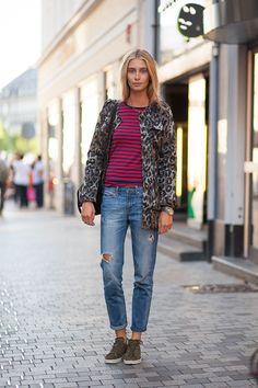 street style... Copenhagen Fashion Week Spring 2015...