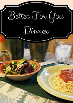 Better For You Dinner