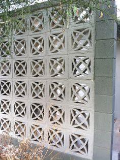 20 Most Popular Decorative Concrete Blocks For Garden Wall - ViraLinspirationS Decorative Concrete Blocks, Concrete Block Walls, Cinder Block Walls, Concrete Wall, Cement Garden, Garden Walls, Breeze Block Wall, Garden Blocks, Precast Concrete
