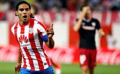 Atlético de Madrid 4-0 Athletic de Bilbao ::: Radamel Falcao