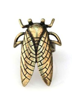 Cicada Ring  Posted to the Stufflicious.com community storefront by thenorthernsea. Buy it directly from thenorthernsea.com for $12 today. #Rings #Accessories #Womens #Apparel #Fashion #Style #Bling #Bling