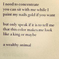 myshoesuntied:  Kinmy Walters, from her new book,Uptalk