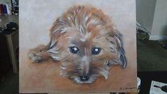 Commissioned Pet Portrait Acrylic Painting x Canvas Portrait Acrylic, Pet Portraits, Paintings, Canvas, Pets, Animals, Tela, Animales, Paint