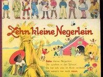 ZEHN KLEINE NEGERLEIN Pappband mit Daumenregister