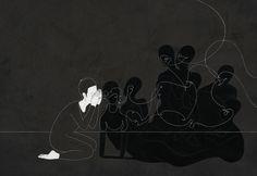 우리의 탄생, Birth of us - 김대현 Daehyun Kim - 무나씨 드로잉 Moonassi drawing