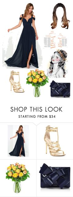 """""""111"""" by murielleazzi ❤ liked on Polyvore featuring BARIANO, Chinese Laundry, KaBloom and Delpozo"""