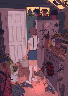 Illustration log, Alice Conisbee on ArtStation at https://www.artstation.com/artwork/WQ0kD