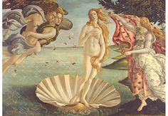 Fototapete Botticelli - Geburt der Venus