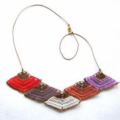 thumbnail for 7 piece prism necklace