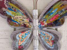 Kelly Rae Roberts Wall Art -Butterfly