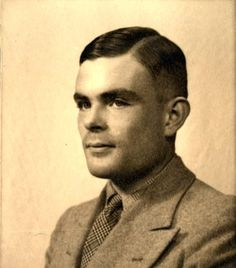 Alan Turing, WW2 code breaker and inventor of the first computer.