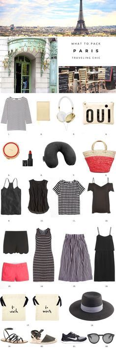 When deciding what to pack for Paris, one of the fashion capitals of the world, it is tempting to pack up your entire closet. But I promise you can pack for a week or even two weeks in a carry-on if you pick out shirts, dresses, bottoms, and shoes in the same color palette. If everything goes together you can ...