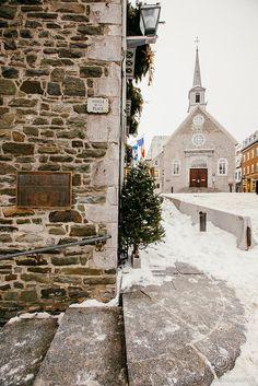 Old Town Quebec:  Notre Dame Des Victoires