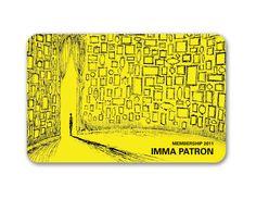 art museum membership cards | IMMA's 2011 LIMITED EDITION MEMBERSHIP CARD