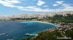 Jeden z popularniejszych kurortów wypoczynkowych w Chorwacji - Baska na wyspie Krk http://www.chorwacja24.info/kvarner/baska #baska #krk #kvarner #chorwacja #croatia