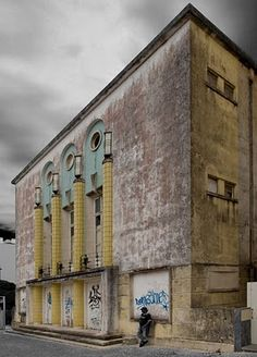 Fantastic Portuguese guerrilla photo initiative. They break into derelict, forgotten (and beautiful) properties and take pictures to freeze them in time.