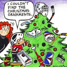 Image result for hockey christmas