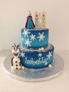 Frozen  Theme | Olaf | Elsa | Gallery | Sugar Divas Cakery | Orlando | Cupcakes | Custom Cakes  Www.sugardivascakery.com