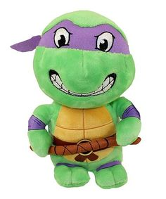 Another great find on #zulily! TMNT Donatello Plush Toy #zulilyfinds