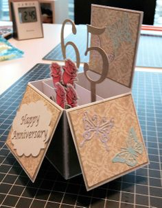 Found directions for this box card online. Very easy to make.