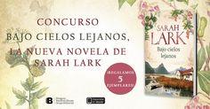 Llévate la nueva novela de Sarah Lark Sarah Lark, Books, Pageants, Heavens, Prize Draw, Novels, Reading, Libros, Book