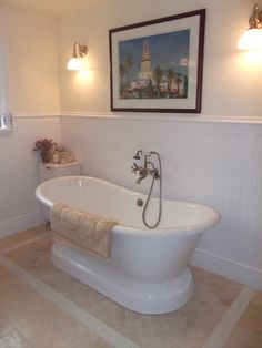 Pedestal Tub Design Ideas, Pictures, Remodel, and Decor - page 15