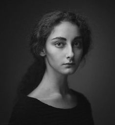 *** by Dmitry Ageev on Beautiful regal lighting. I like his dark grey backgrounds. I want to get a grey background to emulate this, also, so I can shoot light at it with colour gels. Black And White Portraits, Black And White Photography, Photography Women, Portrait Photography, Best Portraits, Photo Reference, Face Reference, Interesting Faces, Portrait Inspiration