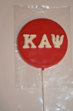 Kappa Alpha Psi chocolate candy