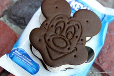 Nothing better than a Mickey ice-cream sandwich in summer..... #mickey #icecream #sandwich