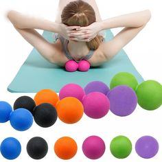 Massage Ball Yoga Mobility Trigger Point Release Body Muscle Fitness GYM Pilates Relaxation Exercise Ball Health Products  Price: 10.92 & FREE Shipping  #fashion|#health|#beauty|#fitness Pilates, Eva Material, Relaxation Exercises, Muscle Relaxation, Sport Matte, Massage Tools, Trigger Points, Yoga, No Equipment Workout