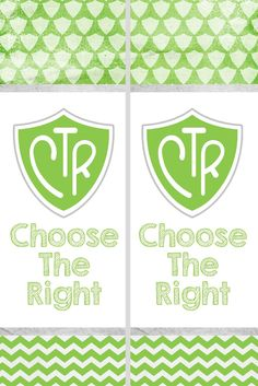 "Here is some free printables for the 2017 Primary Theme, "" Choose the Right .""  ***Please note: These are free and as is.  If you would li..."