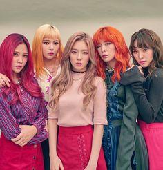 Red Velvet 🌹// From left to right 👉 Yeri, Joy, Irene, Seulgi and Wendy 💋 Seulgi, Red Velvet イェリ, Red Velvet Irene, Velvet Style, Kpop Girl Groups, Korean Girl Groups, Kpop Girls, Christina Aguilera, K Pop