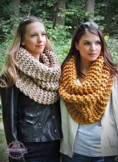 orgu-boyunluk-modeli The Effective Pictures We Offer You About Crochet gorros A quality picture can tell you many things. Chunky Knit Scarves, Crochet Scarves, Knit Crochet, Tricot Simple, Knit Cowl, Scarf Knit, Loop Scarf, Knitted Headband, Scarf Styles