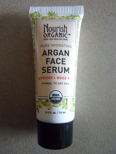 Nourish Organic Argan Face Serum Apricot Rose Hip .5 Fl Oz -- Learn more by visiting the image link.