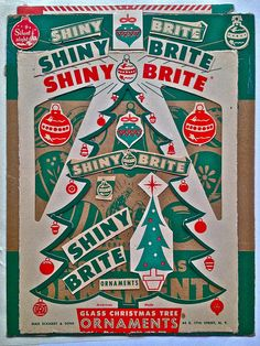 Christian Montone VINTAGE 1940s 1950s SHINY BRITE CHRISTMAS COLLAGE CARD GRAPHIC 2012 B by Christian Montone, via Flickr