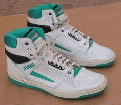 High Top Sneakers From the 80s ...coming soon