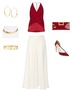 """""""Bez tytułu #50"""" by wiezyczka ❤ liked on Polyvore featuring Elie Saab, Dion Lee, Francesco Russo, Roger Vivier, Lana, Jules Smith and Frasier Sterling"""
