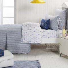 Navy Cameron Coverlet - like this only different