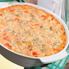 ~ Buffalo Chicken Casserole ~