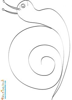 coloriage Dessin de l'escargot pour mosaïque Autumn Crafts, Nature Crafts, Diy And Crafts, Crafts For Kids, Arts And Crafts, Snail And The Whale, Snail Craft, Preschool Garden, Printable Shapes