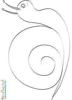 1000 images about petit escargot porte sur son dos - Dessin mosaique a imprimer ...