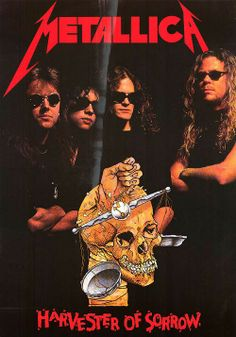 Metallica ~ Harvester Of Sorrow