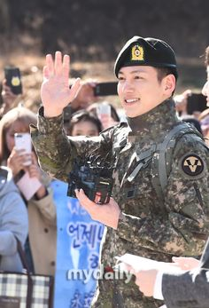 Military Service, Ji Chang Wook, Love Story, Captain Hat, Army, Pure Products, Actors, Creative, Korean
