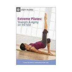 Stott Pilates: Extreme Pilates - Strength & Agility on the Mat (dvd_video)