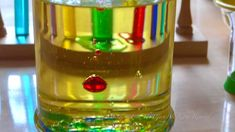 Lava Lamp: Oil Vs Colored Water Density Immiscibility Experiment (Science  101 Video Series)