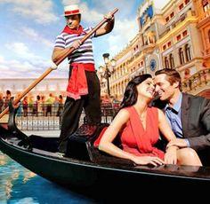 Gondolázás Velencében Las Vegas, Boat, Travel, The Scream, Cities, Italia, Mexican Night, Dinghy, Viajes