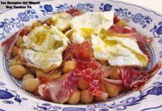 Hoy Cocinas Tú: Garbanzos con huevos rotos